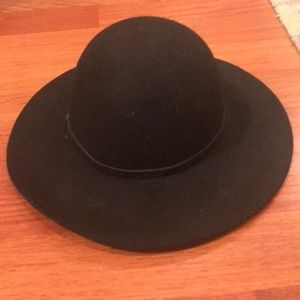 Nordstrom brand black floppy hat